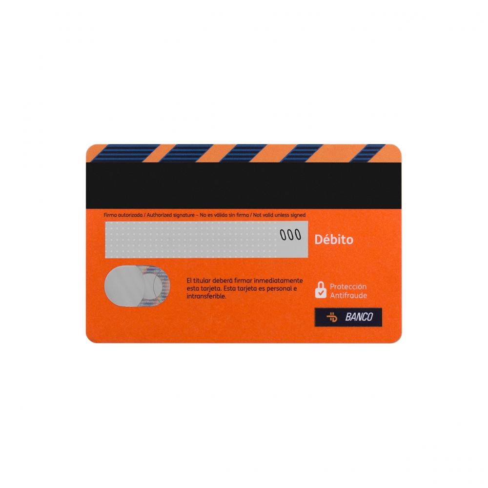 Imagen en la que se ve una tarjeta de crédito