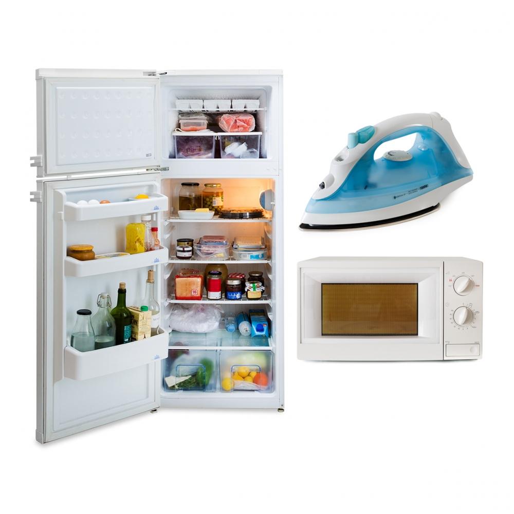 Imagen en la que se ve el concepto genérico de electrodomésticos