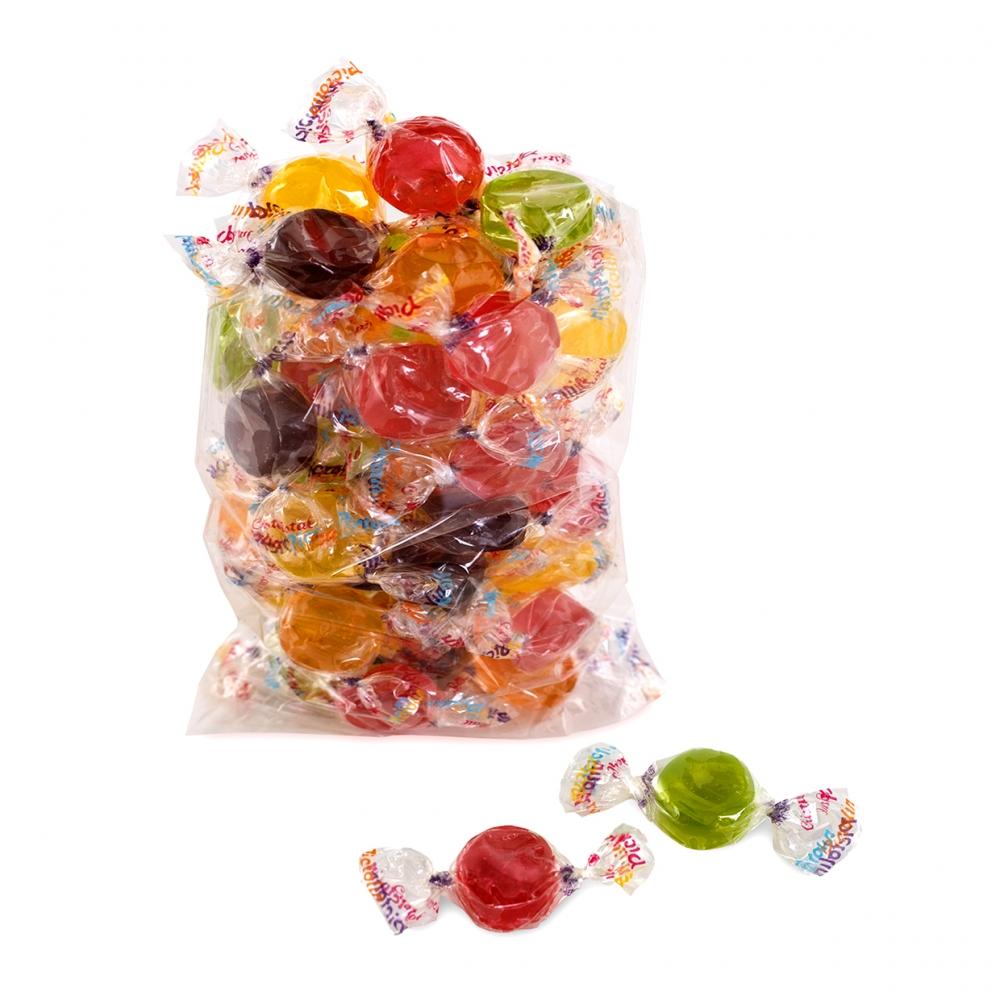 Imagen en la que se ve una bolsa de caramelos