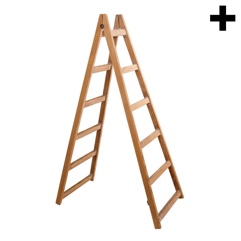Imagen en la que se ve el plural del concepto escalera
