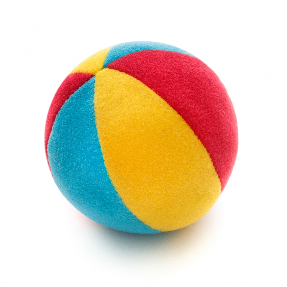 Imagen en la que se ve una pelota de espuma