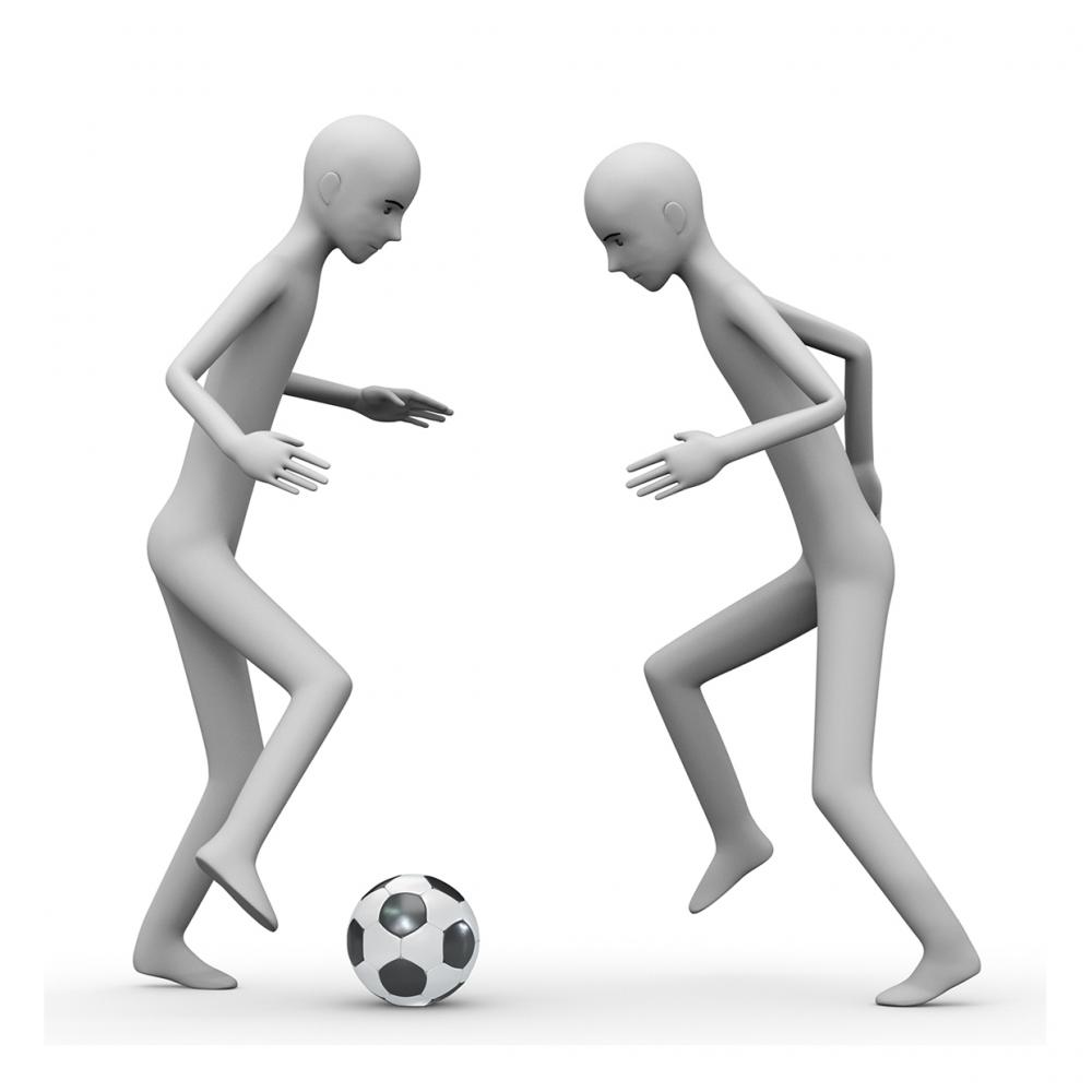 Imagen de jugar al fútbol