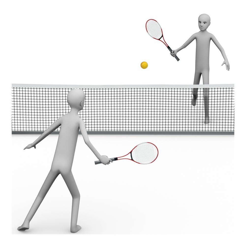 Imagen de jugar al tenis