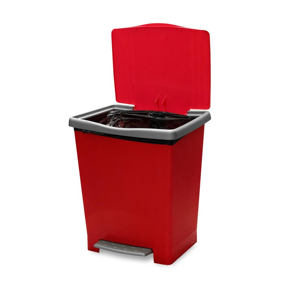 Imagen en la que se ve un cubo de la basura