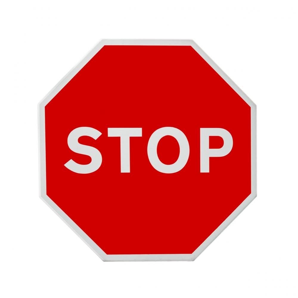 Imagen en la que se ve una señal de stop