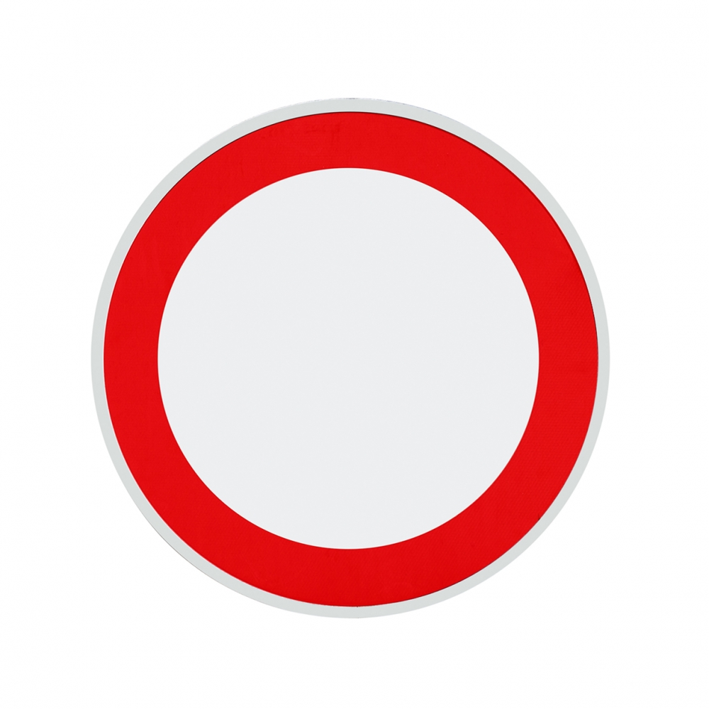 Imagen en la que se ve una señal de prohibido