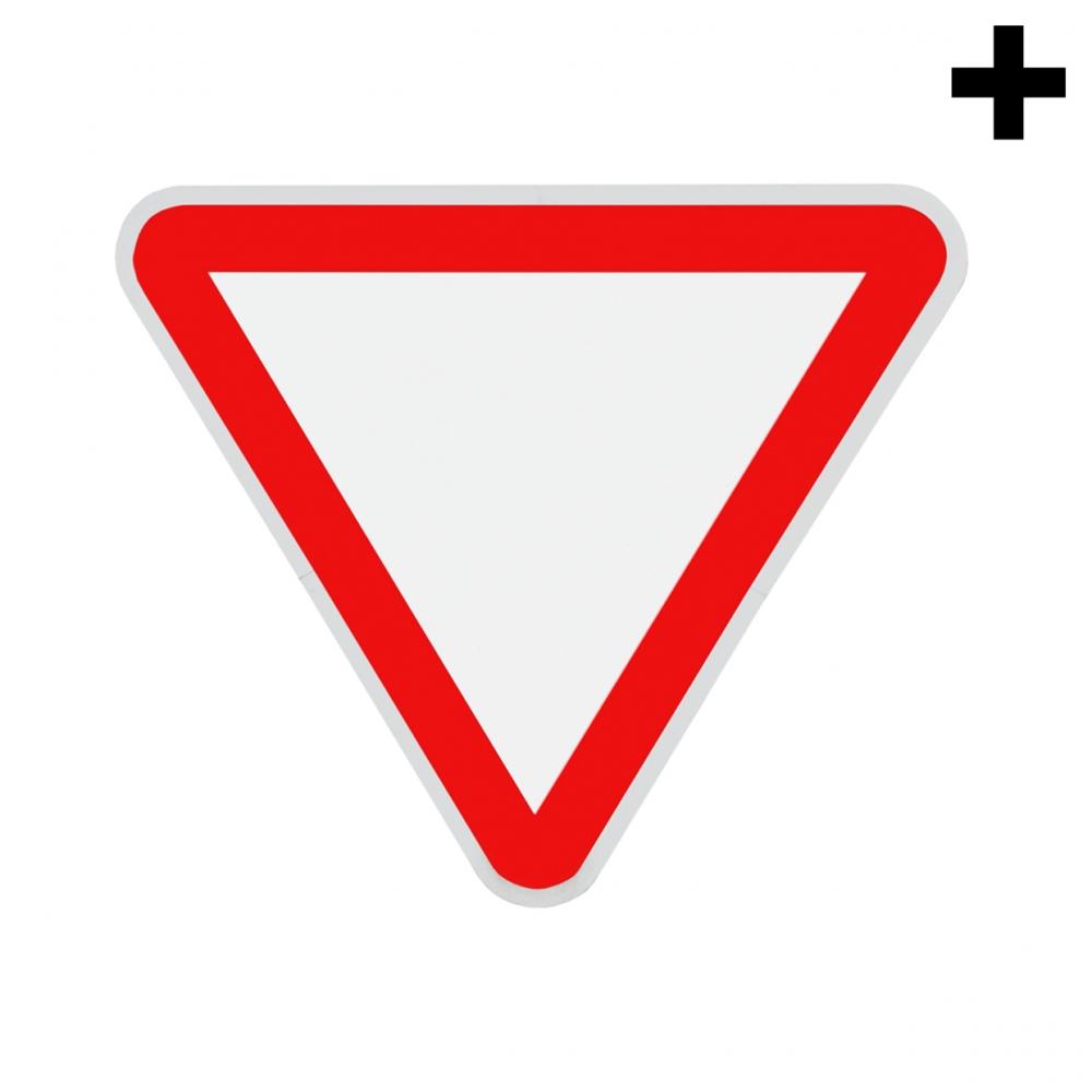 Imagen en la que se ve el plural del concepto de señal de ceda el paso