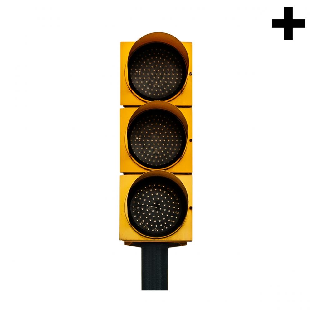 Imagen en la que se ve el plural del concepto semáforo