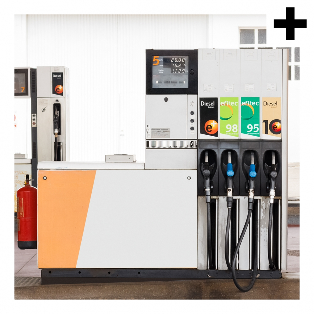 Imagen en la que se ve el plural del concepto gasolinera