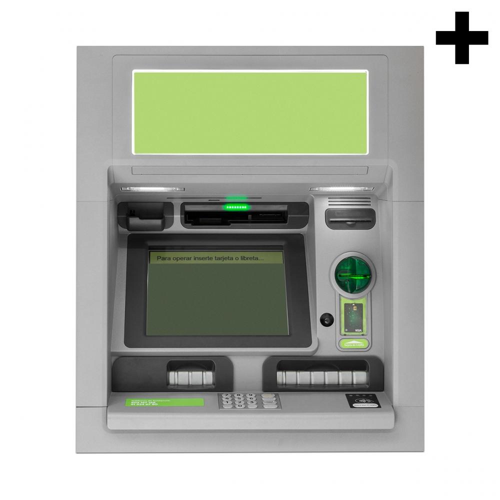 Imagen en la que se ve el plural del concepto cajero automático
