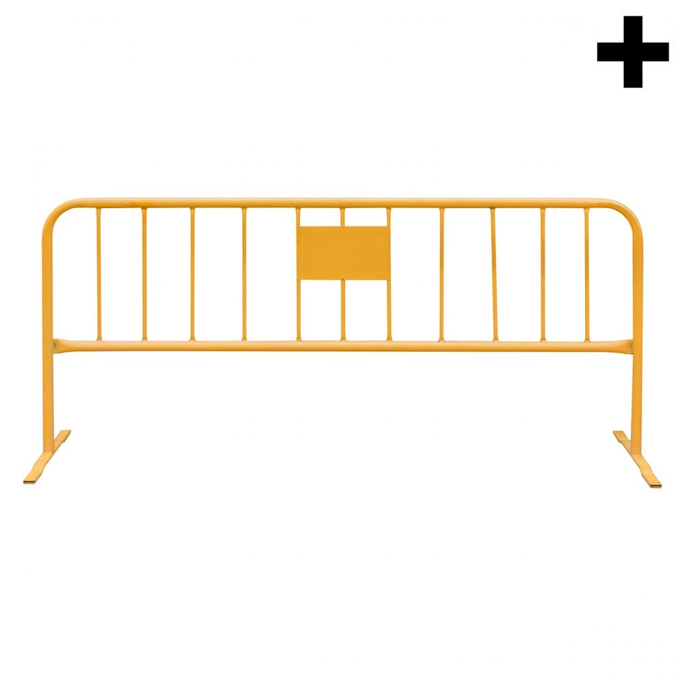 Imagen en la que se ve el plural del concepto valla metálica