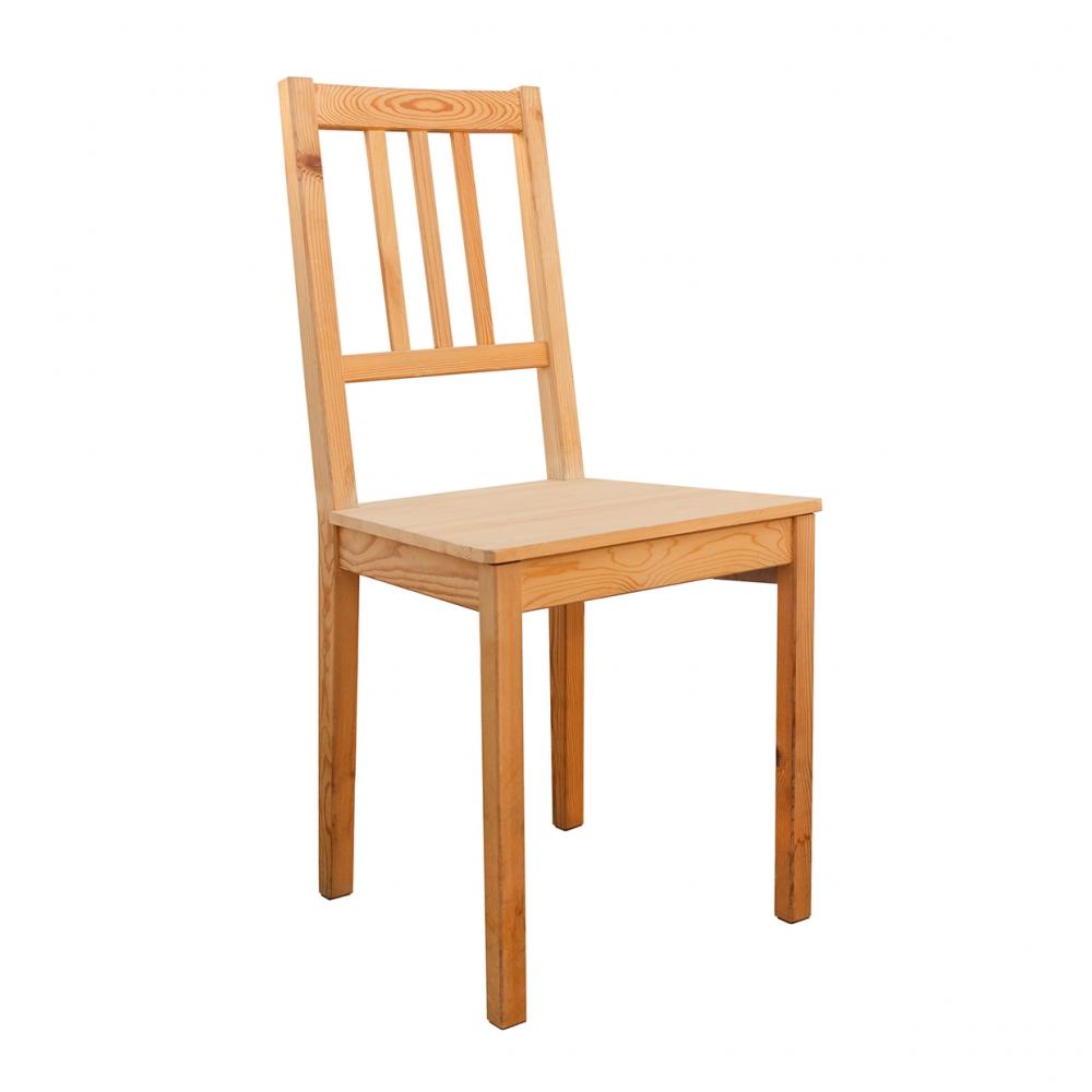 Imagen en la que se ve una silla de madera