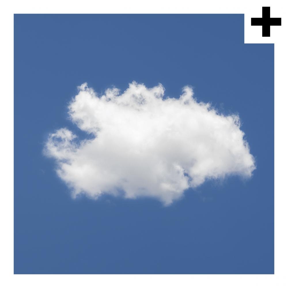 Imagen en la que se ve el plural del concepto nube