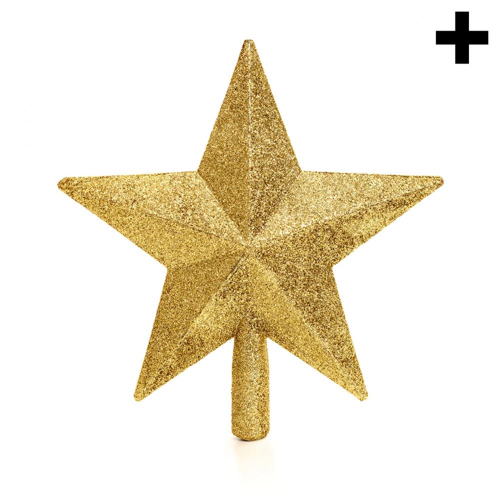 Imagen en la que se ve el plural del concepto estrella de Navidad
