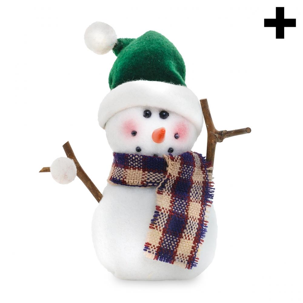 Imagen en la que se ve el plural del concepto muñeco de nieve
