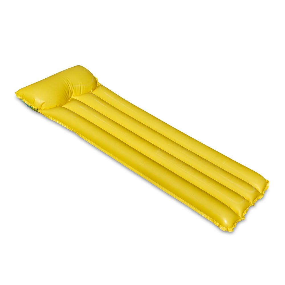 Imagen en la que se ve una colchoneta amarilla