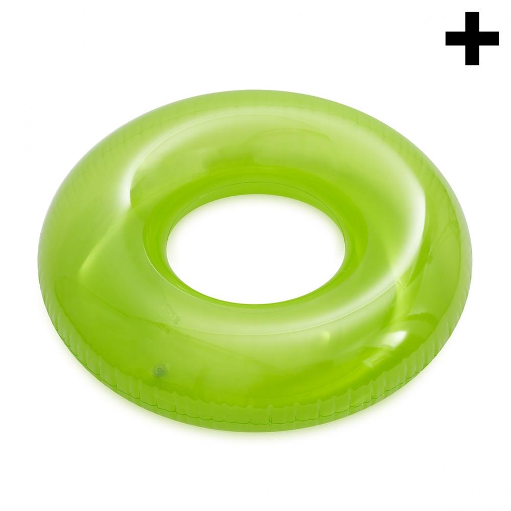 Imagen en la que se ve el plural del concepto flotador