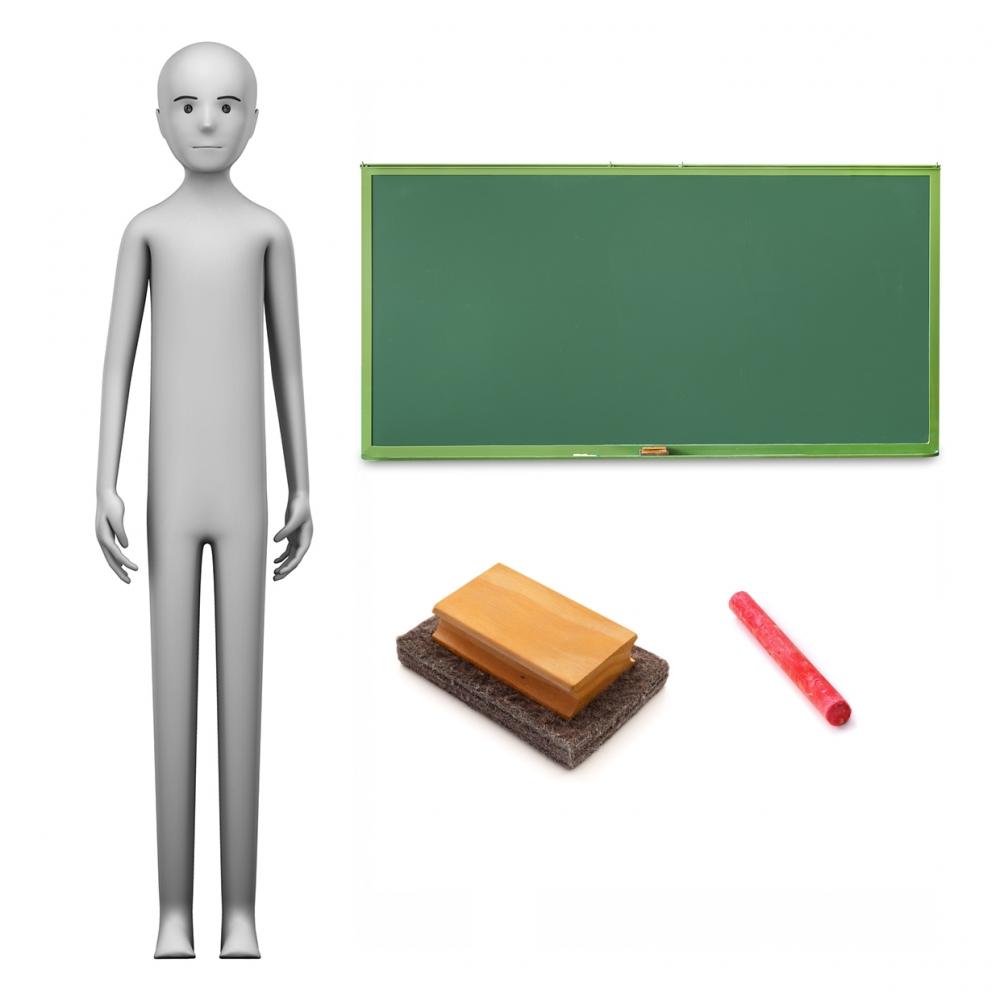Imagen en la que se ve el concepto de profesor