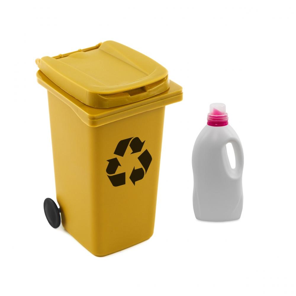 Imagen en la que se ve el concepto de reciclaje de envases