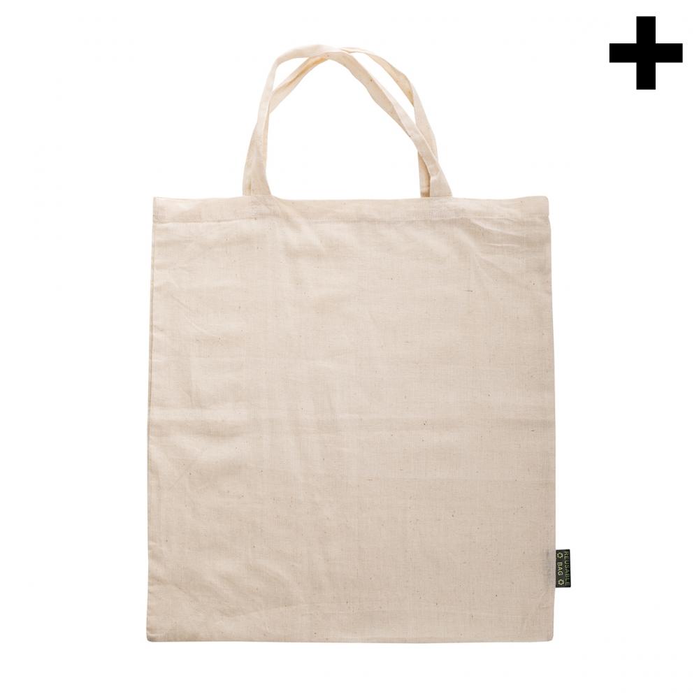 Imagen en la que se ve el plural del concepto bolsa de tela