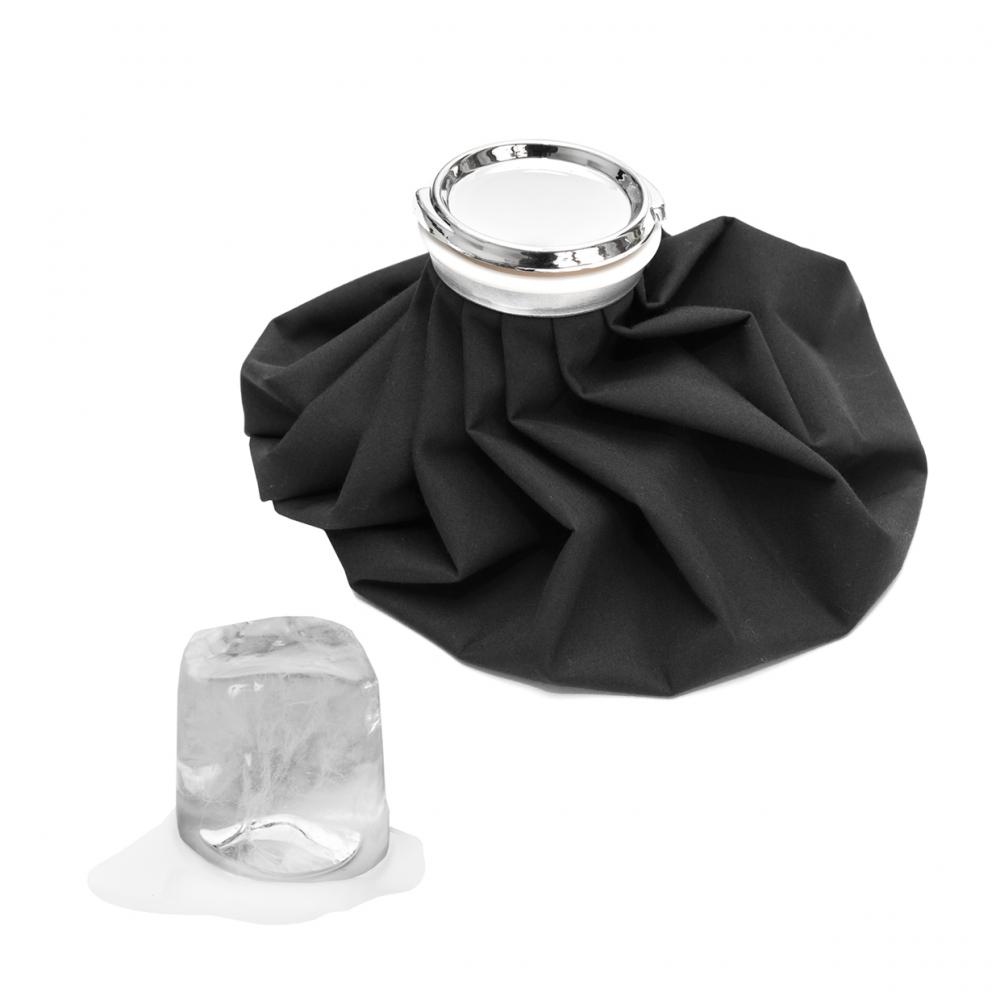 Imagen en la que se ve una bolsa de hielo