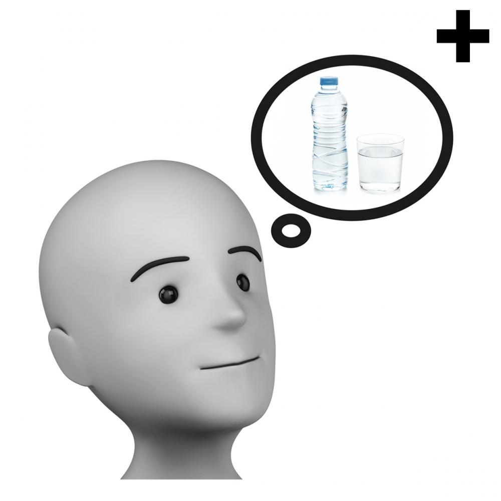 Imagen en la que se ve el plural del concepto sediento