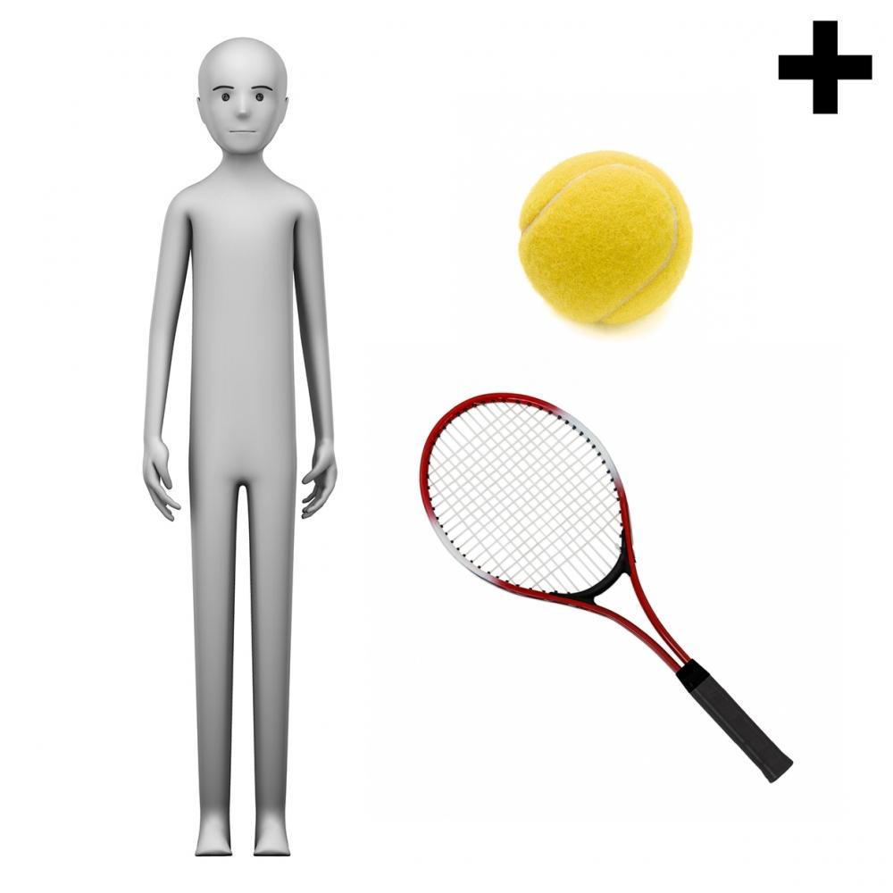 Imagen en la que se ve el plural del concepto tenista