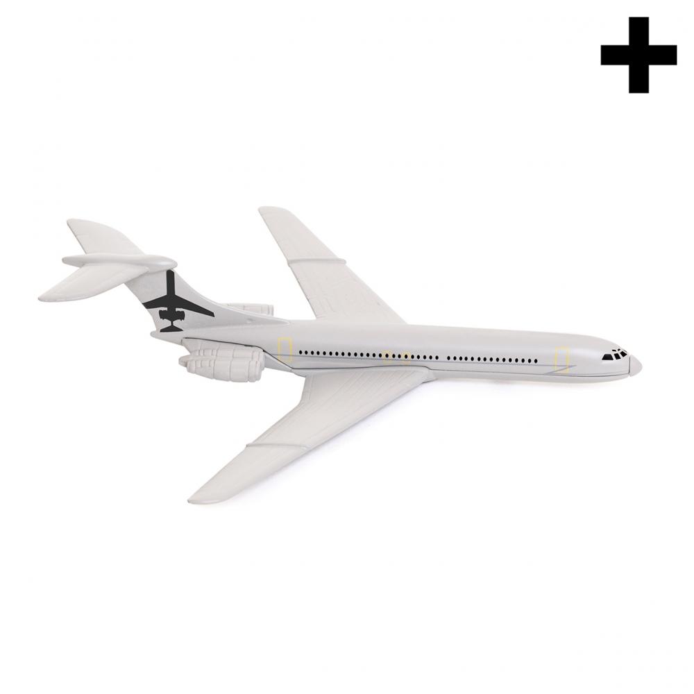 Imagen en la que se ve un avión