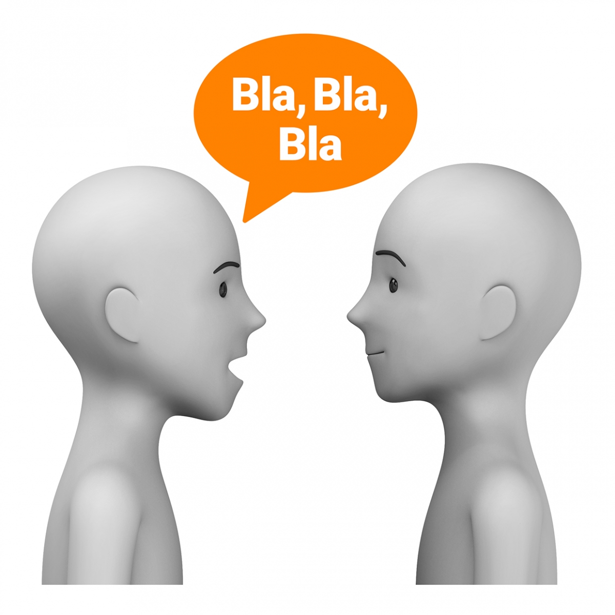 Imagen en la que se ve a dos personas hablando entre si