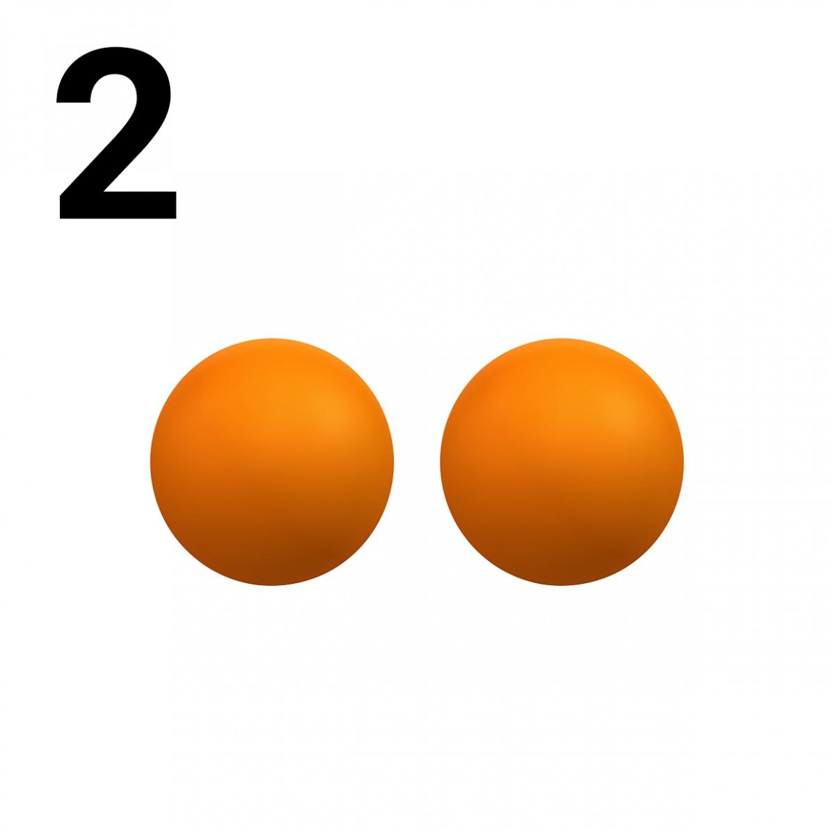 Imagen en la que se representa el número dos