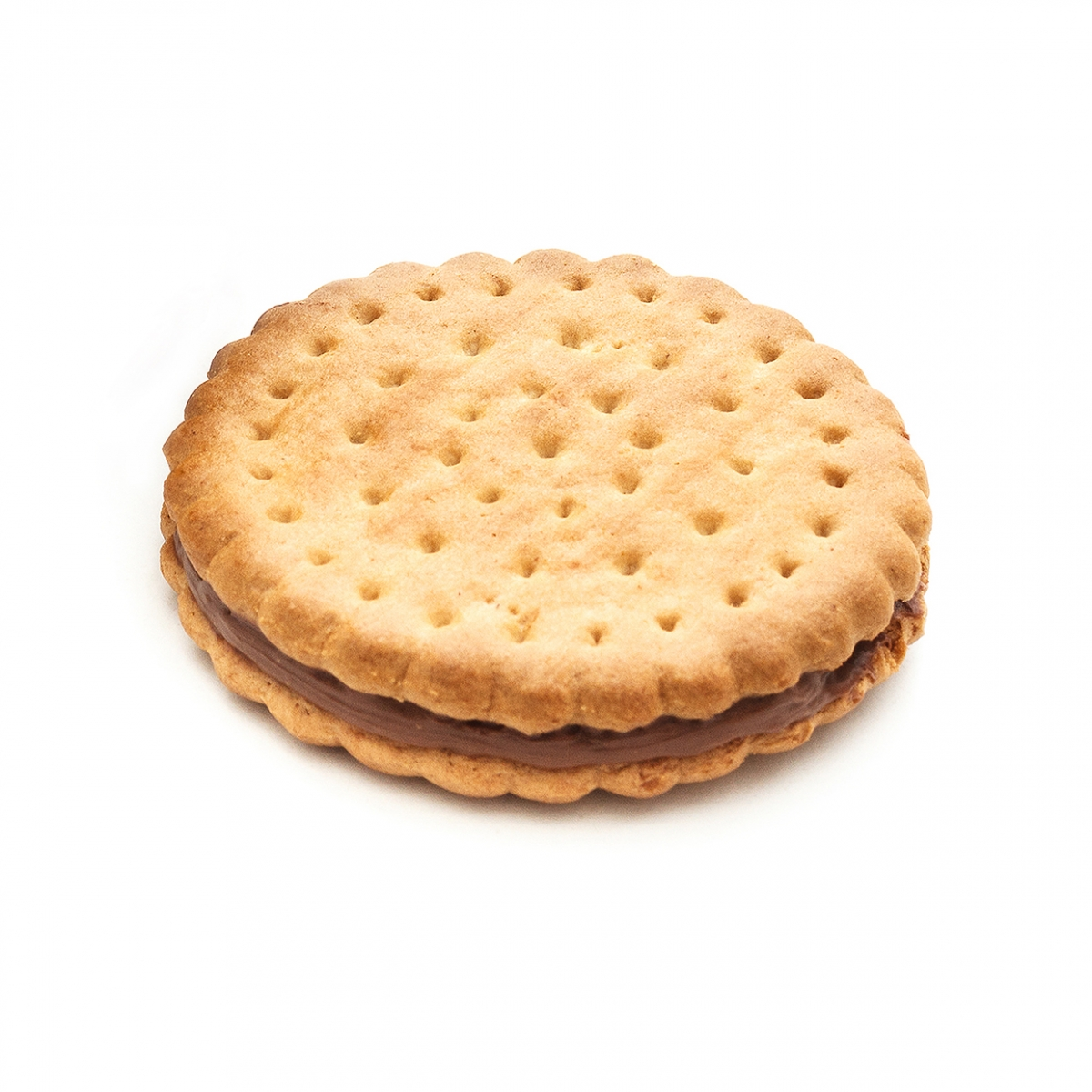 Imagen en la que se ve una galleta de chocolate