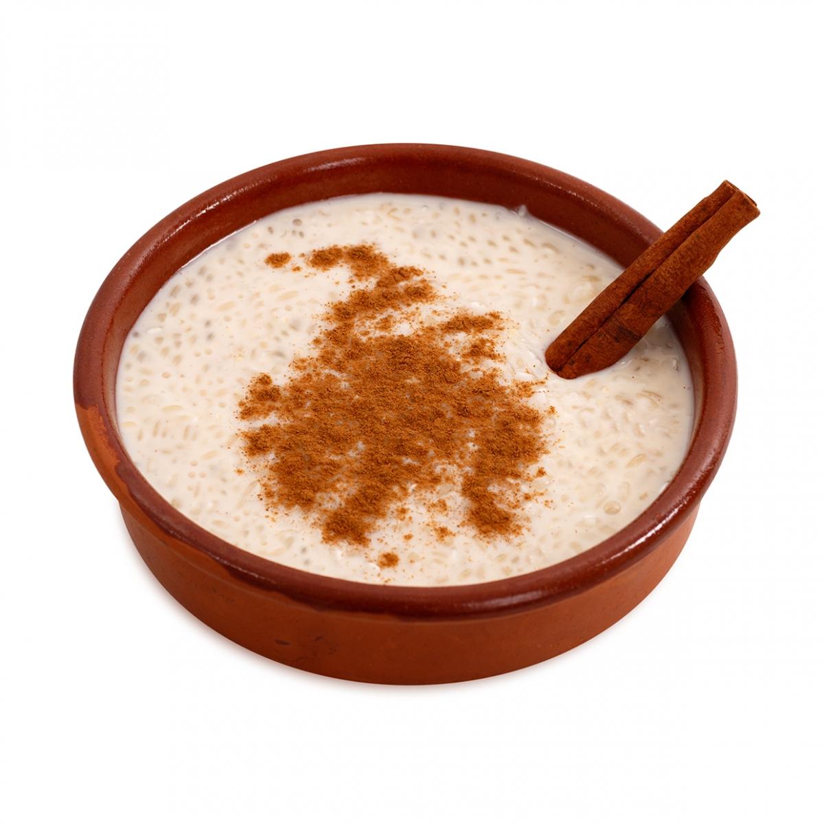 Imagen en la que se ve un arroz con leche