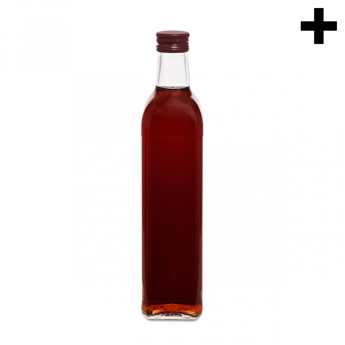 Imagen en la que se ve el plural del concepto botella de vinagre