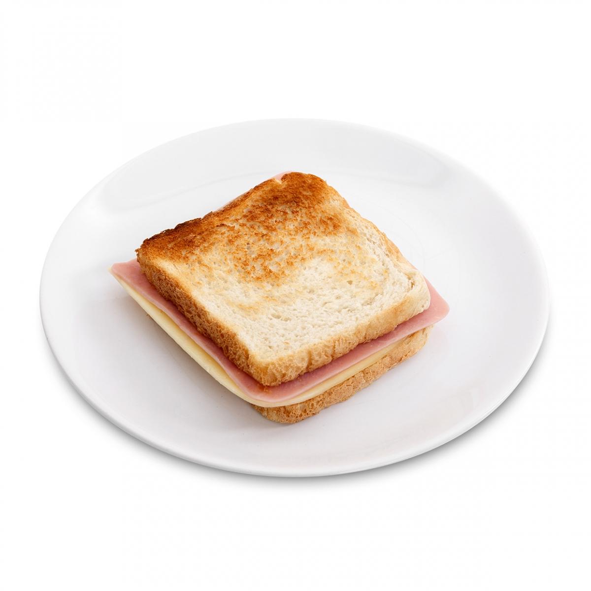 Imagen en la que se ve un sandwich