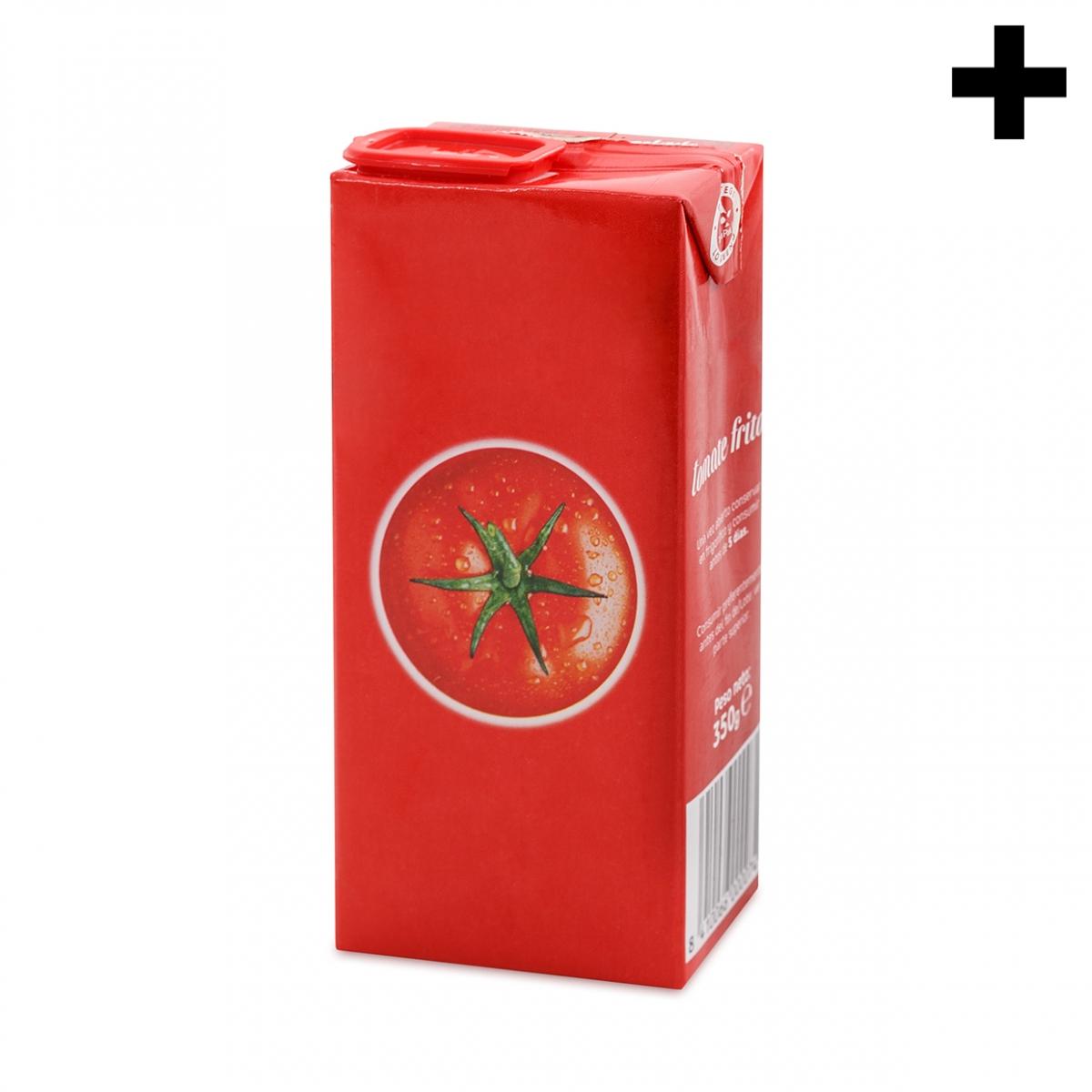 Imagen en la que se ve el plural del concepto tomate frito