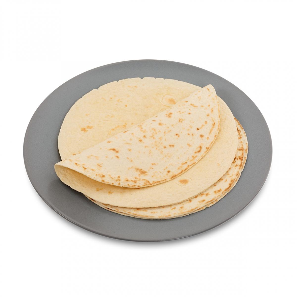 Imagen en la que se ve un plato con tortas de maíz