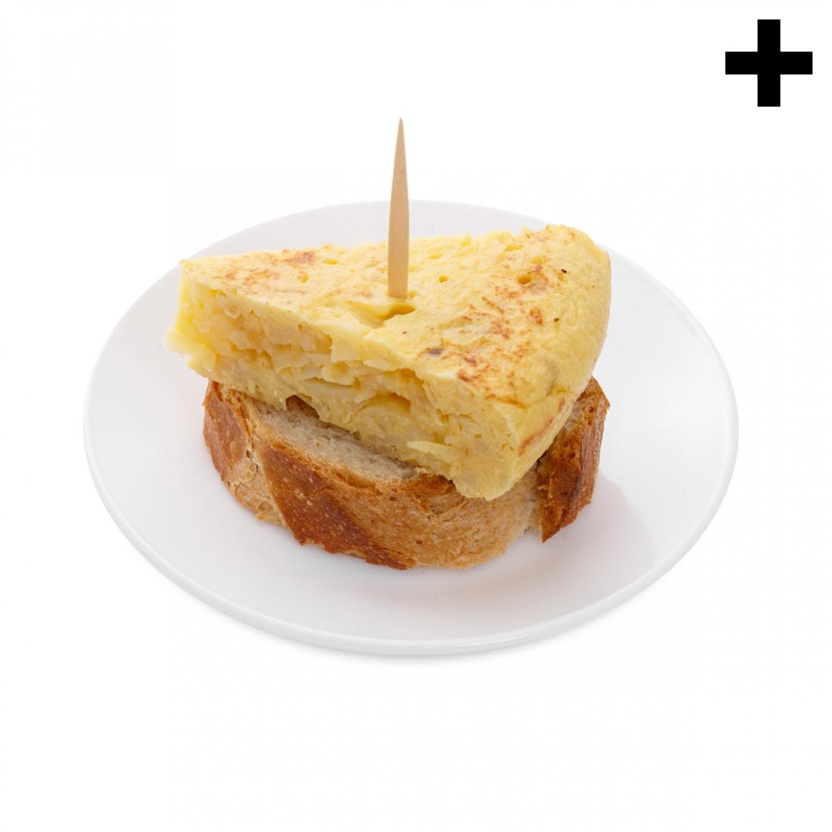 Imagen en la que se ve el plural del concepto pincho de tortilla