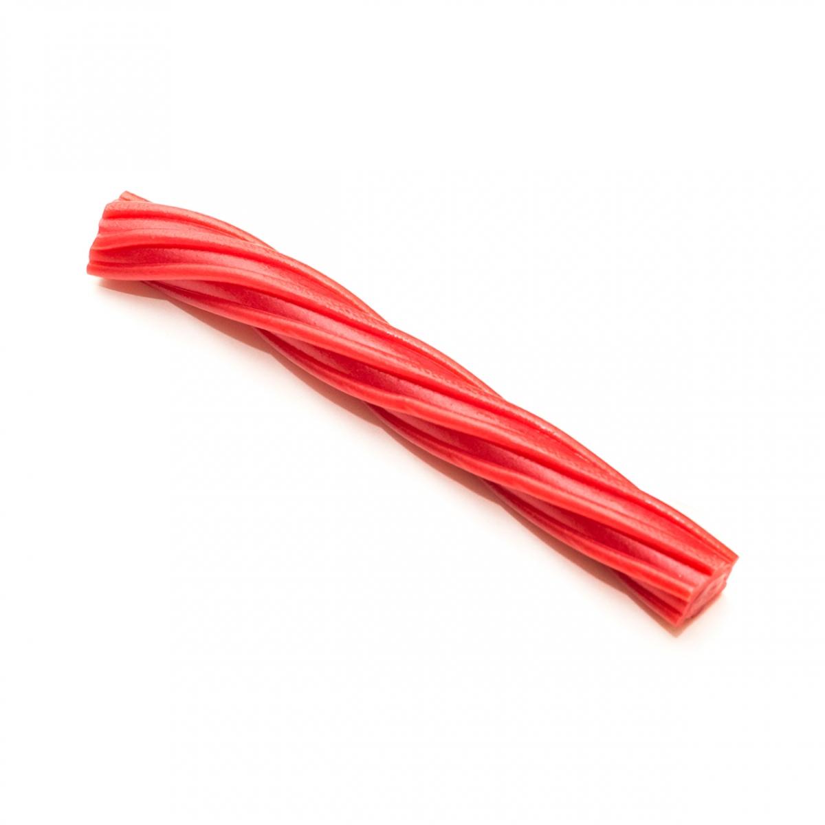 Imagen en la que se ve un regaliz rojo