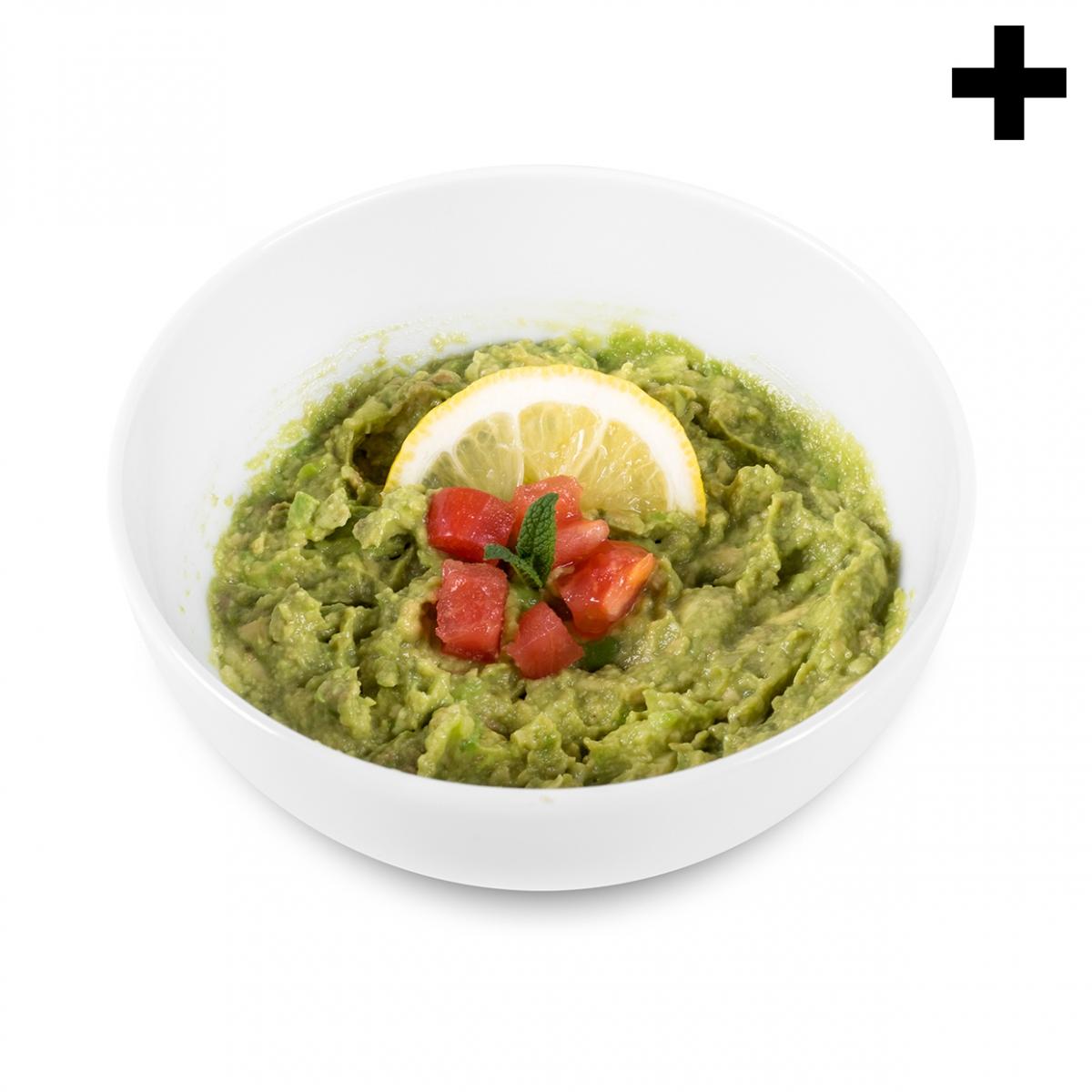 Imagen en la que se ve el plural del concepto guacamole
