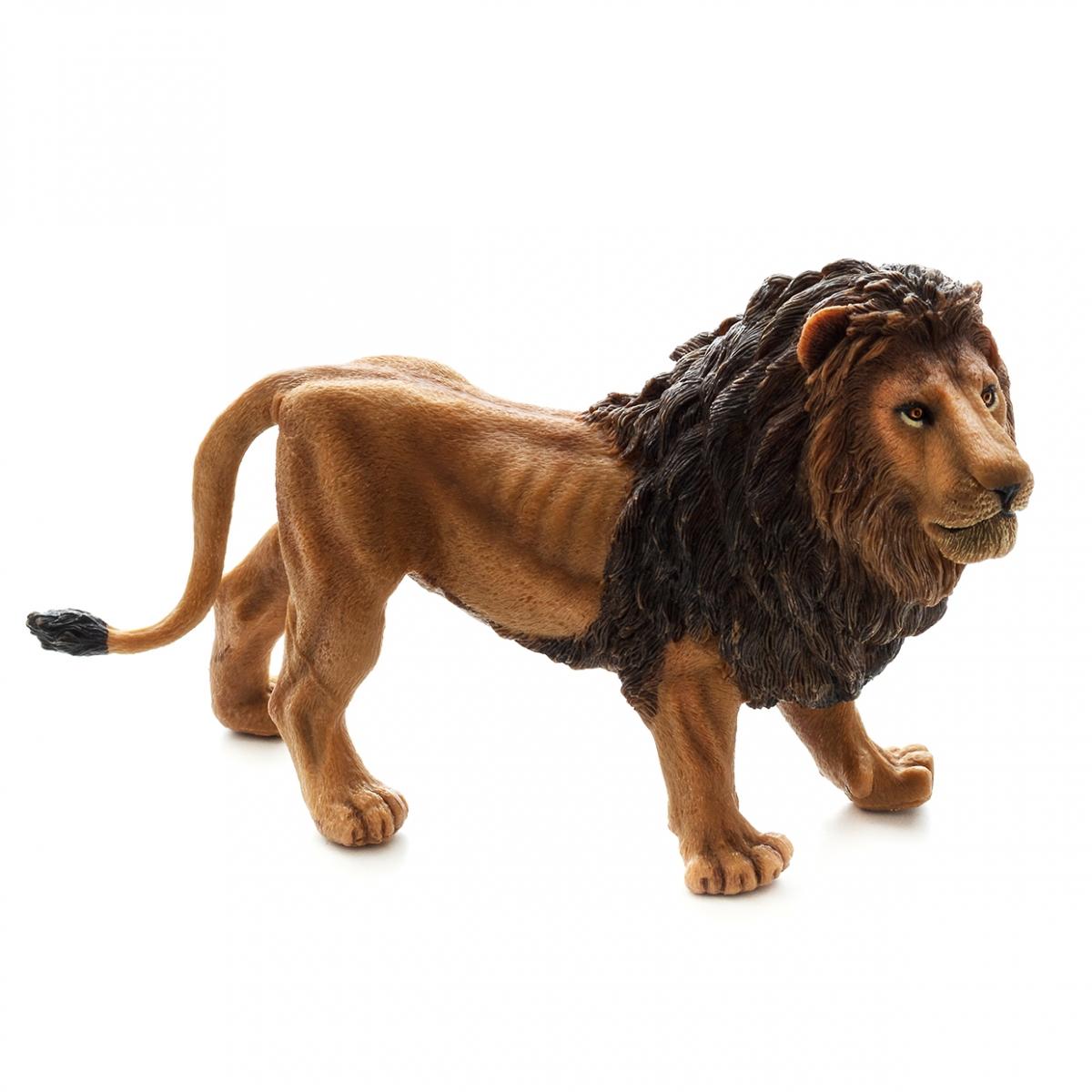 Imagen en la que se ve un león