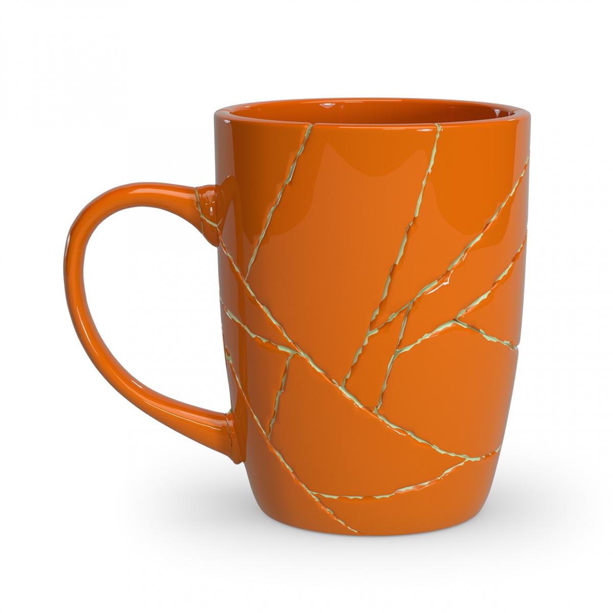 Imagen en la que se ve una taza arreglada