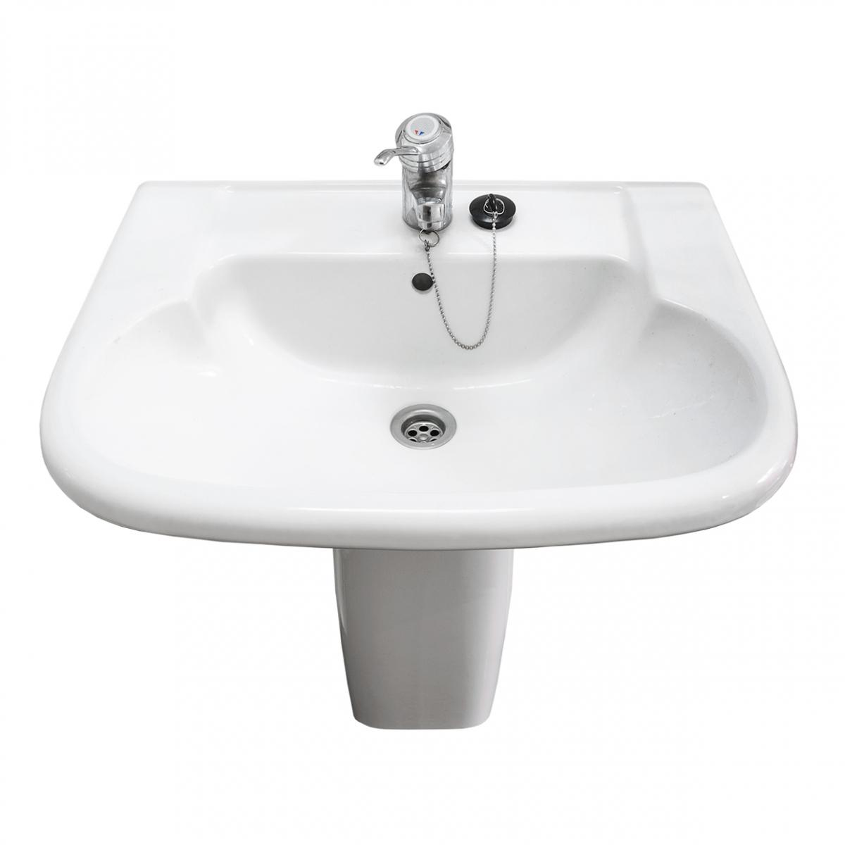 Imagen en la que se ve un lavabo