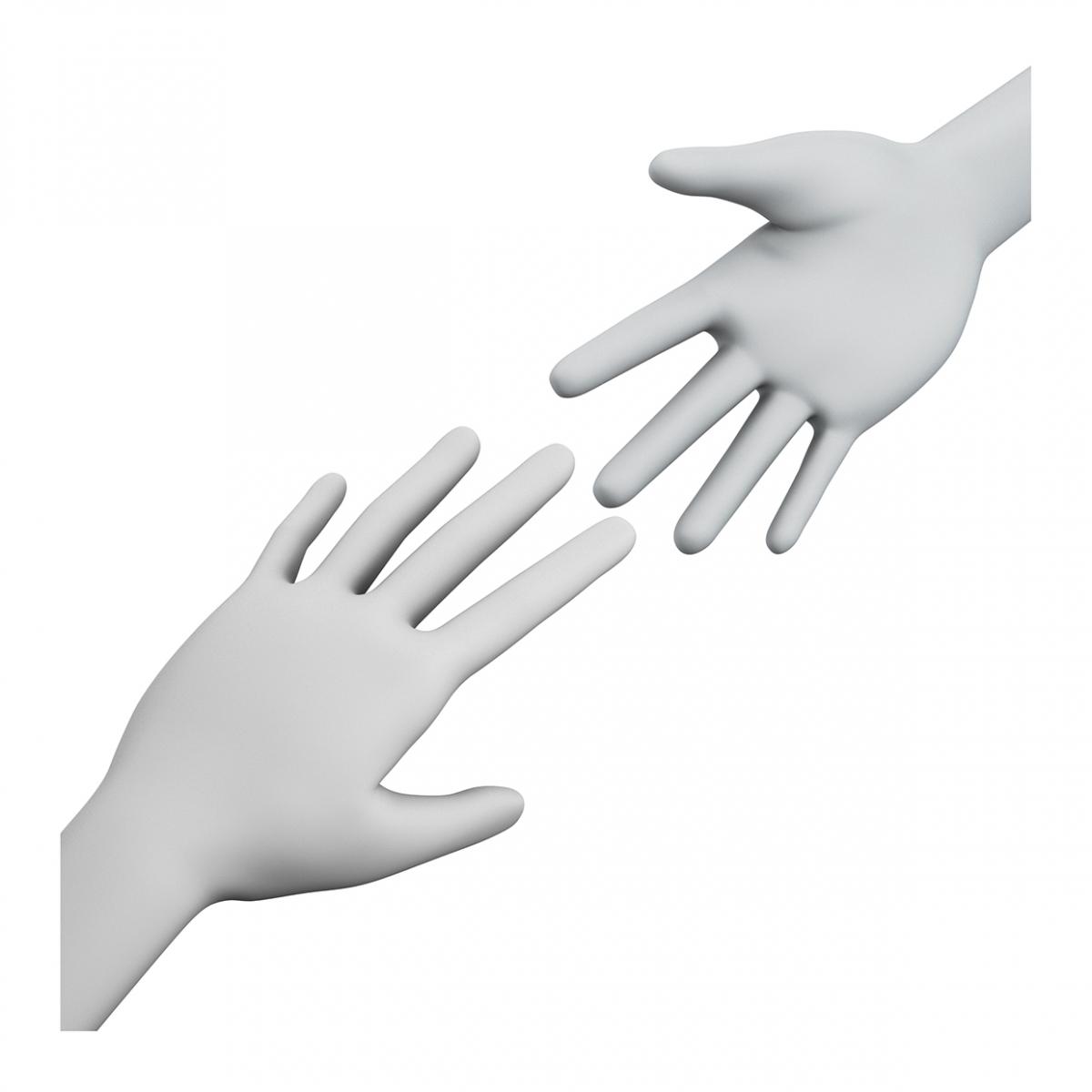 Imagen del concepto ayudar o auxiliar