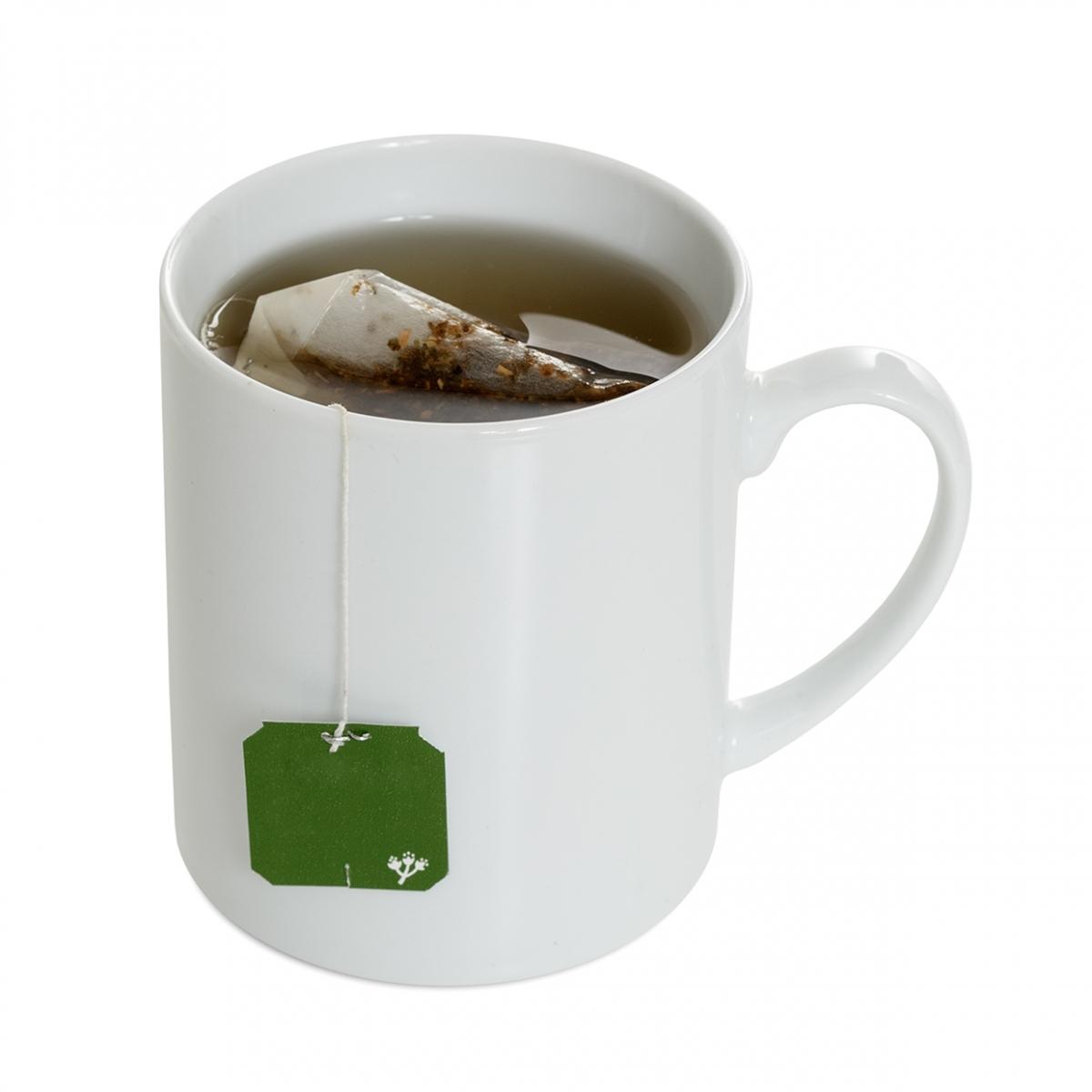Imagen en la que se ve una taza con una infusión