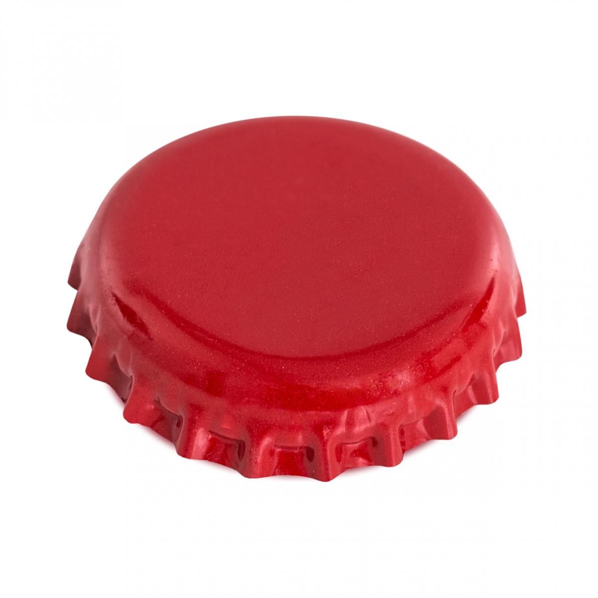 Imagen en la que se ve la chapa de una botella