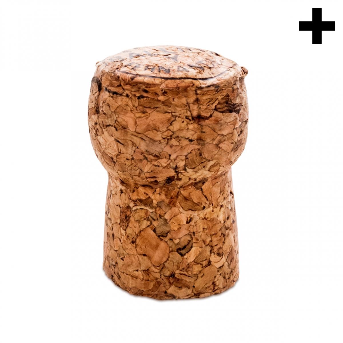 Imagen en la que se ve el plural del concepto corcho de botella