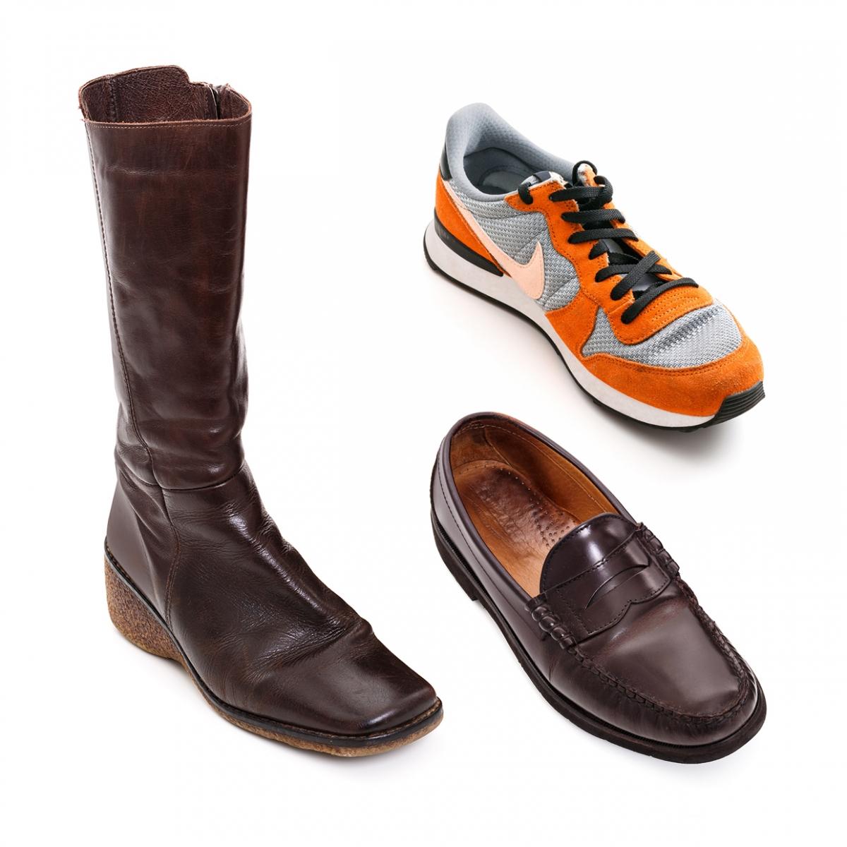 Imagen en la que se ve el concepto genérico de calzado