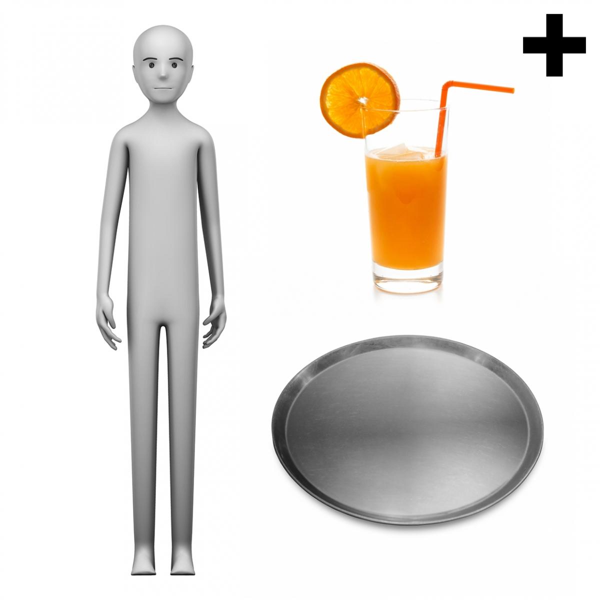 Imagen en la que se ve el plural del concepto camarero o camarera