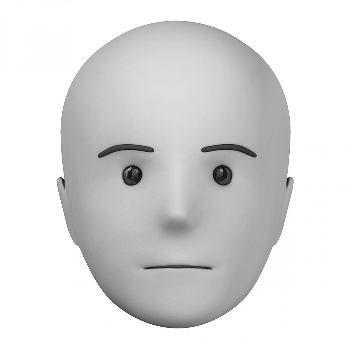 Imagen en la que se ve el concepto genérico de cara