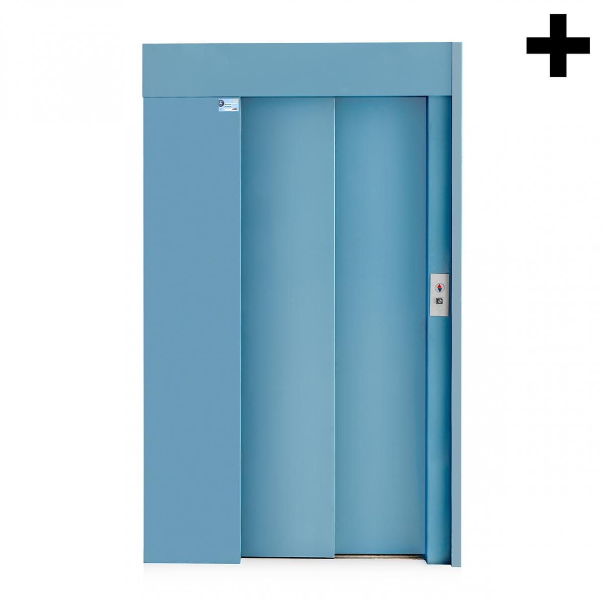 Imagen en la que se ve el plural del concepto ascensor